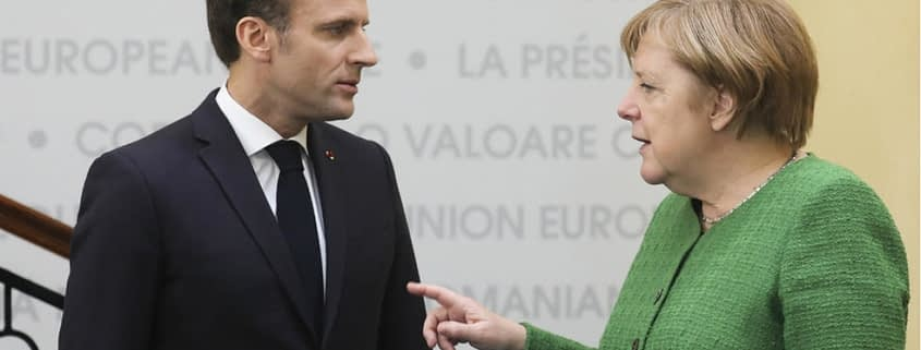 Binomul germano-francez, dereglat de ambiţia lui Macron şi prudenţa lui Merkel